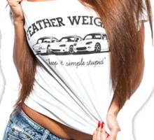 Dannie Riel (Feather Weight) Sticker