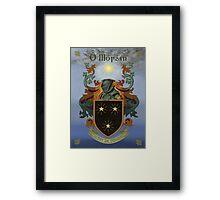 Moran Coat of Arms Framed Print