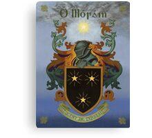 Moran Coat of Arms Canvas Print
