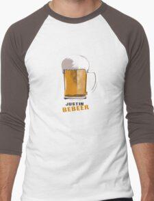Justin Bebeer Men's Baseball ¾ T-Shirt
