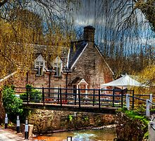 The Bridge Inn, Michaelchurch Escley SPRING 01 by gardencottage