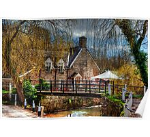 The Bridge Inn, Michaelchurch Escley SPRING 01 Poster