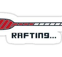 Rafting Sticker