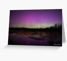 Springtime Aurora Greeting Card