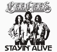 Stayin' Alive by Bradley John Holland
