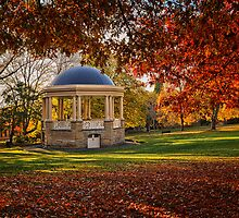 Rotunda in St David's Park, Hobart, Tasmania by Chris Cobern