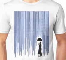 Melted Crayon Art - Rain Unisex T-Shirt