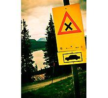 Stop! Photographic Print