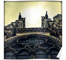 Notre Dame Impression Poster