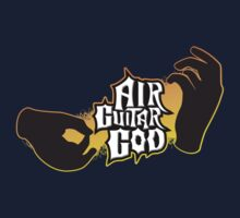 Air Guitar God Kids Clothes