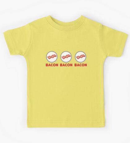 Bacon Bacon Bacon Kids Tee