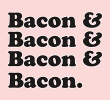 Bacon & Bacon & Bacon & Bacon One Piece - Long Sleeve