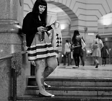 Waiting... by Becca Starr by Shot in the Heart of Melbourne, 2013