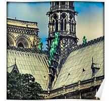 Notre Dame Impression 3 Poster