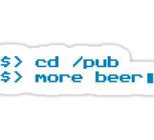 Programmer Beer Sticker