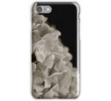 hydrangea blossoms iPhone Case/Skin