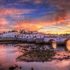 Tavira Sunset by manateevoyager