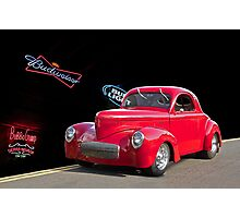 1941 Willys - Beer Run Photographic Print
