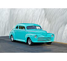 1947 Ford Custom Coupe Photographic Print