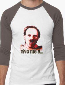 trencherman red Men's Baseball ¾ T-Shirt