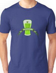 St Patricks Day Beer Glass Unisex T-Shirt