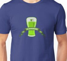St Patricks Day Beer Glass Unisex T-Shirt