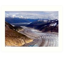 Glaciers/Rivers Of Ice Art Print