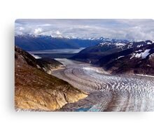 Glaciers/Rivers Of Ice Canvas Print