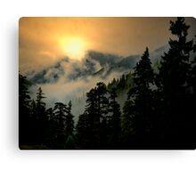 Wow, Wow, Bang, Bang ~ Buck Mountain Canvas Print