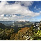 The scenic Blue Mountains world by Alexey Dubrovin