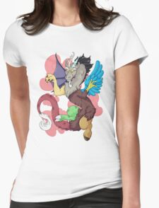 Cotton Candy Chaos Womens Fitted T-Shirt