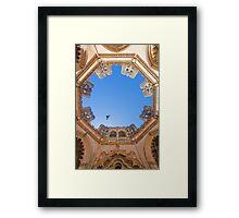 King D.Duarte Pantheon. O Céu das Capelas Imperfeitas. Batalha Monastery Framed Print