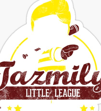 Tazmily little league Sticker