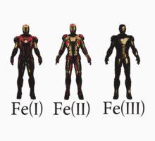 Fe(III) Iron Man 3 T-Shirt