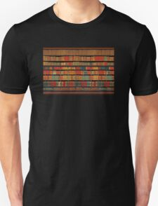 Vintage Library at Chateau Chantilly, Paris FRANCE Unisex T-Shirt