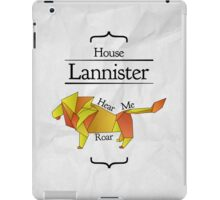 House Lannister - Stained Glass iPad Case/Skin