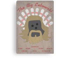 The Big LeBOWLski Canvas Print