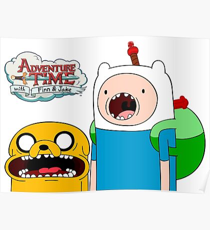 ♡ ADVENTURE TIME ♡ Poster