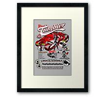 Gotham AutoWorld Framed Print