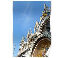 Facade of San Marco's Basilica Poster