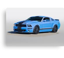 2013 Ford Mustang GT500 Canvas Print