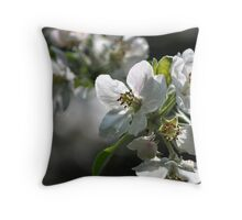 old apple tree 3 Throw Pillow