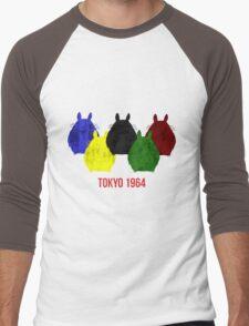Totoro 1964 Men's Baseball ¾ T-Shirt