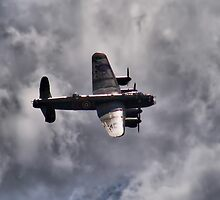 Dambusters 70 Years On - BBMF Lancaster 2 - HDR by Colin J Williams Photography
