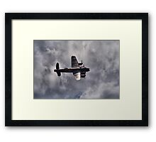 Dambusters 70 Years On - BBMF Lancaster 2 - HDR Framed Print