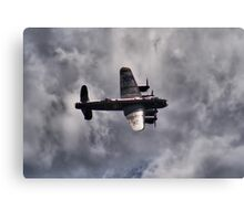 Dambusters 70 Years On - BBMF Lancaster 2 - HDR Canvas Print