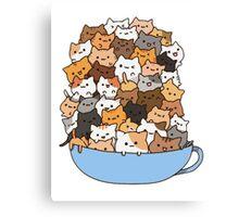 Mug Kittens Canvas Print