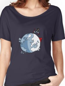 Mirror's Edge world Women's Relaxed Fit T-Shirt