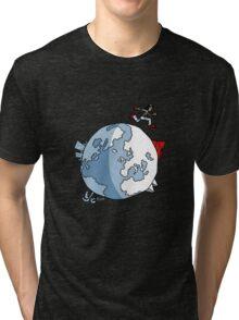 Mirror's Edge world Tri-blend T-Shirt