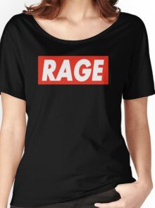 Rage - Critical Role (Obey Inspired) Women's Relaxed Fit T-Shirt